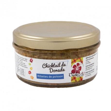 "Chicktail de dorade ""Créole Fac'île"""