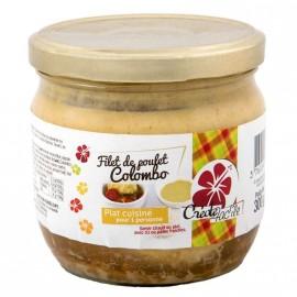 """Filet de Poulet au Colombo """"Créole Fac'île"""""""