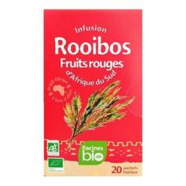 Infusion d'Afrique du Sud BIO Rooibos Fruits rouges