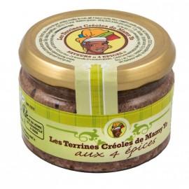 """Terrine aux 4 épices """" MAMY YO """""""