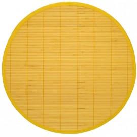 Set de table uni par 2, rond diam 40 cm coloris au choix