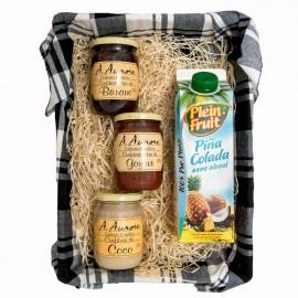 "Panier Gourmand confitures ""Aurore"""