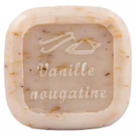 Savon pur végétal Vanille Nougatine 80g