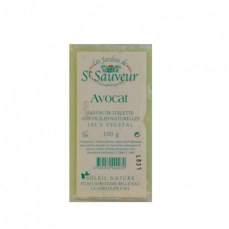 "Savon ""les jardins de St Sauveur"" avocat 100g"