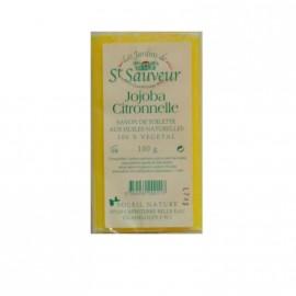 """Savon """" les jardins de St Sauveur""""jojoba Citronnelle 100g"""