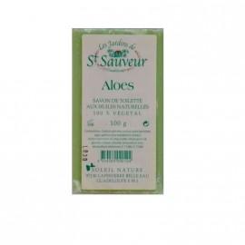 """Savon """" les jardins de St Sauveur"""" Aloes 100g"""